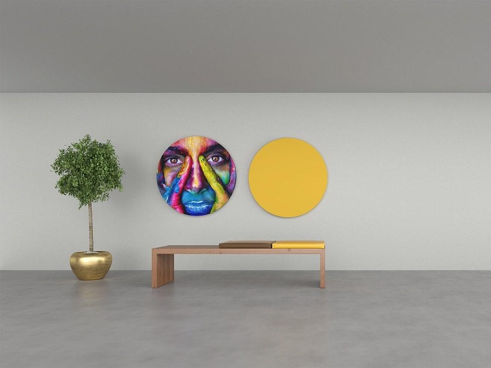 Oval Akustik Panel